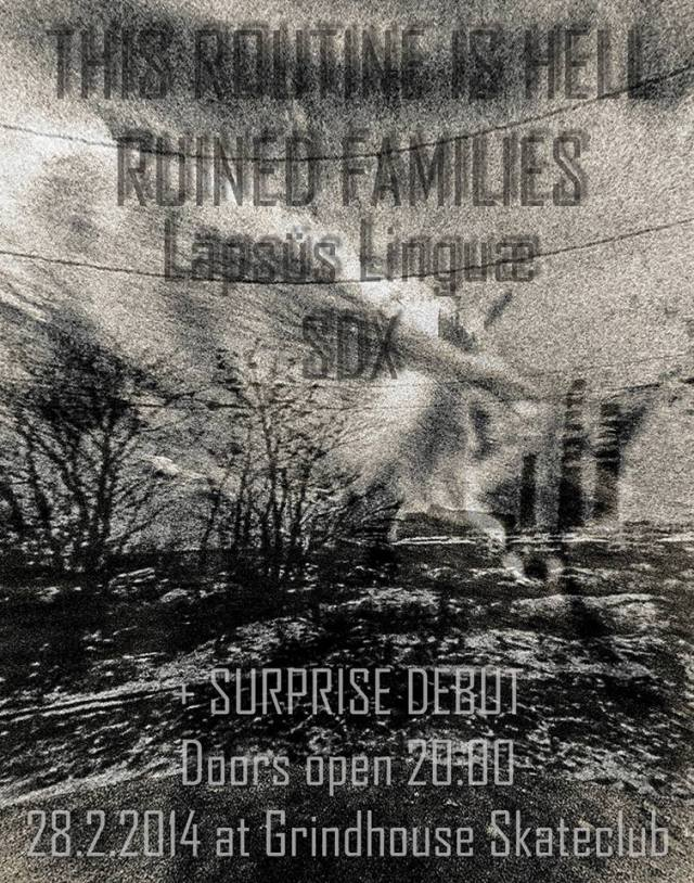 Poster This Rotine is Hell Ruined Families 280214